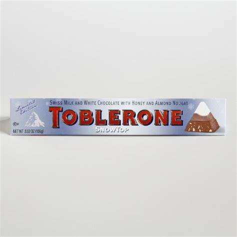 limited edition toblerone snowtop bar set of 5 world market