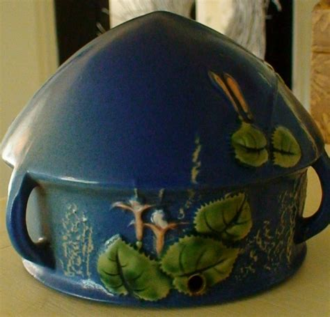 Roseville Pottery Planter by Roseville Quot Fuchsia Quot Hanging Pottery Planter Collectors