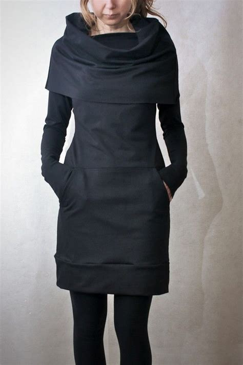 20740 Pocket Style Comfy cowl neck pocket tunic thus look so comfy and warm but