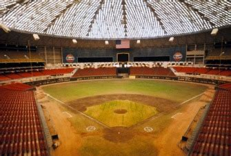 astrodome history      houston astros