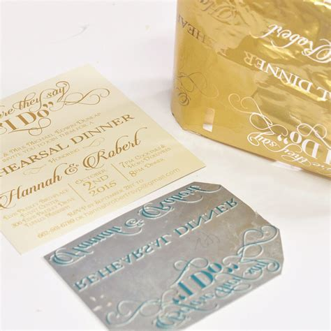 foil sted wedding invites foil wedding invitations
