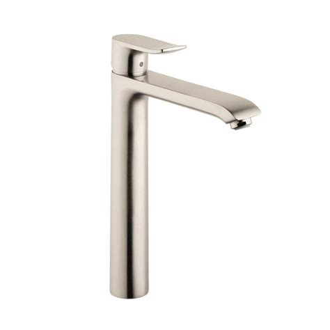 Hansgrohe Bathroom Faucet Hansgrohe Metris E One Handle Vessel Sink Bathroom Faucet Nickel 31082821 J Keats