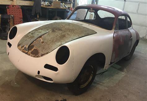 Project Porsche For Sale by 1962 Porsche 356 B Coupe Project For Sale