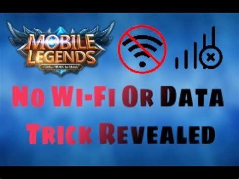 mobile legend offline mobile legends secret revealed offline mode 2017 2018