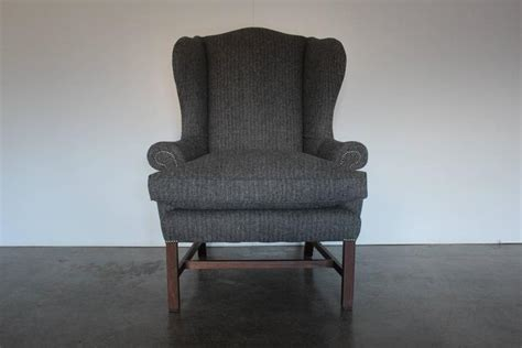 Ralph Armchair by Ralph Devonshire Wingback Armchair In Grey