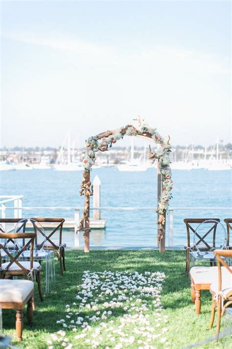 wedding in newport ca cool nautical newport wedding modwedding