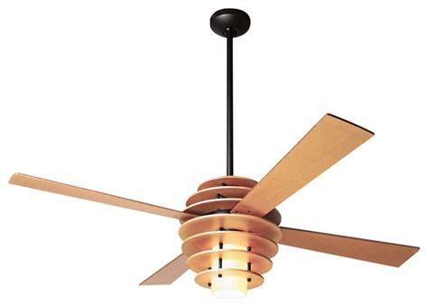 designer fans 42 quot modern fan stella maple bronze ceiling fan with light contemporary ceiling fans by