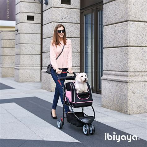 pug sneezing treatment pet carrier stroller also available in black silver ibiyaya worldwide
