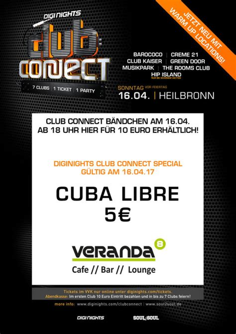 veranda 8 heilbronn event diginights club connect warm up veranda 8 in