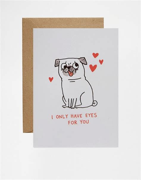 pug valentines day cards ohh deer ohh deer pug s day card