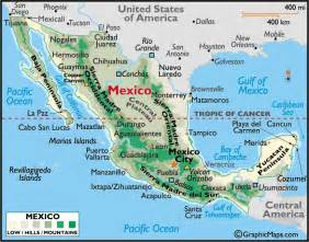 map of mexico mexico map