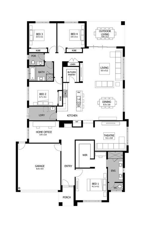Planos De Casas De Un Piso Fachadas Y Planos De 10 Most Por House Floor Plans