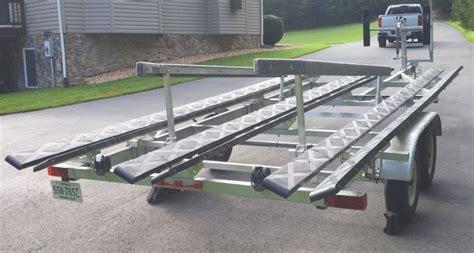 tritoon boat trailer cm loader tritoon 2 pontoon boat ideas pinterest