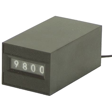 Counter 4 Digit 12 vdc 4 digit counter counters meters counters timers electrical www surpluscenter
