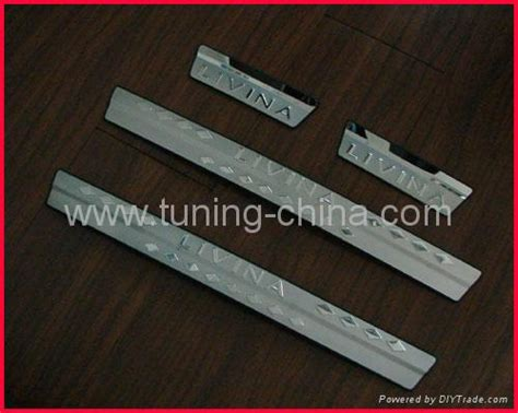 Door Sill Plate Livina With L Stainless door sills plate for nissan livina nl02 china trading company car interior decoration