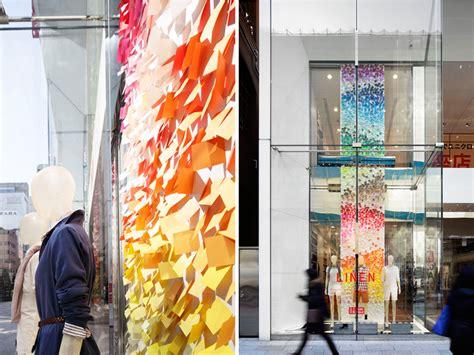 designboom store emmanuelle moureaux blows colorful wind into uniqlo ginza