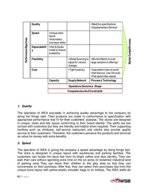 layout strategy of ikea ikea operational startegies