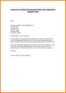 Application Letter Sample Referred By Someone 7 Job Application Format Doc Ledger Paper