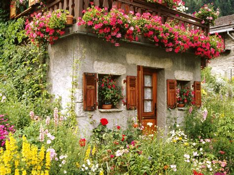 lovely english cottage garden wallpaper  downloads