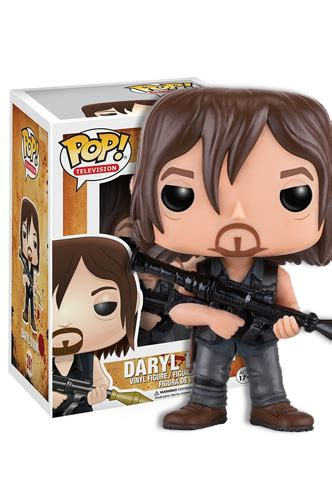 Funko Pop The Walking Daryl Dixon With Rocket Launcher Figure the walking dead pop daryl dixon rocket launcher