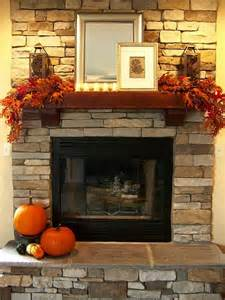 Fall Decorations For Fireplace Mantel by Fall Mantel And I Would Like The Place To Come With