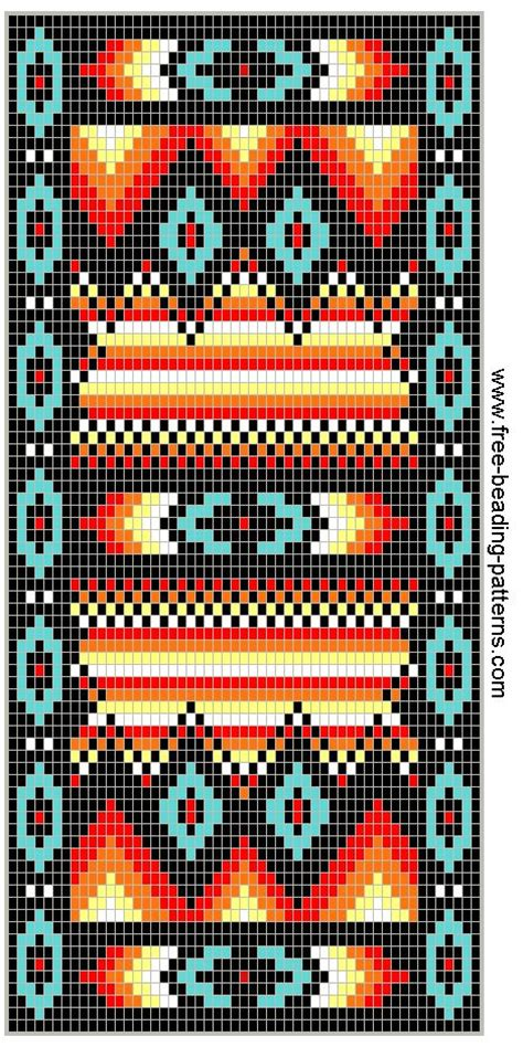 loom beading patterns free patterns animals cross stitch wallet pattern wallets and fire on pinterest