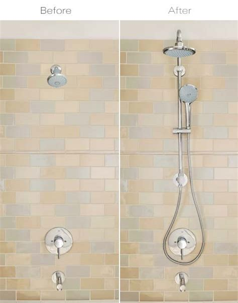 bathtub retrofit grohe retro fit systems shower systems for your shower