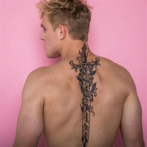 jake tattoo backstabbed jake paul and