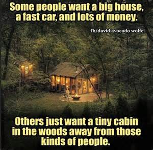 a tiny cabin in the woods the transport planner