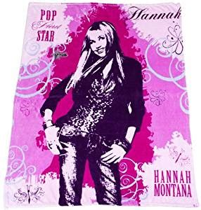 hannah montana bathroom amazon com hannah montana led 50x60 throw home kitchen