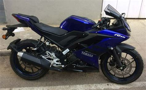 r15 new version undisguised yamaha yzf r15 version 3 0 spotted in india