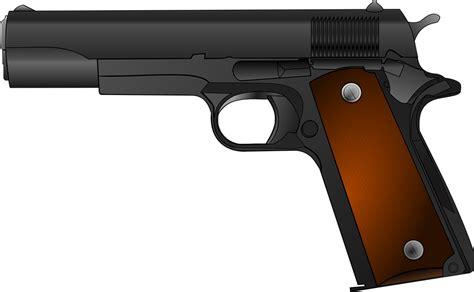 Pistol L by Free Vector Graphic Gun Weapon Pistol Handgun Army