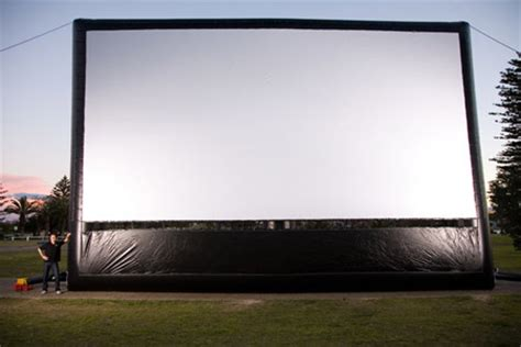 backyard big screen big screen outdoor cinema hire sydney outdoor movie expert