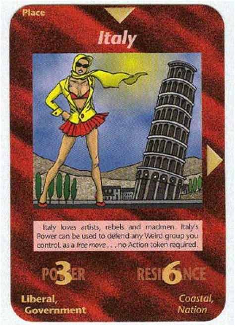 gli illuminati gioco illuminati italy new world order trading card