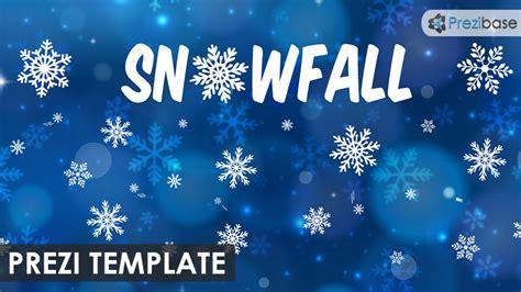 Snowfall Prezi Template   Prezibase