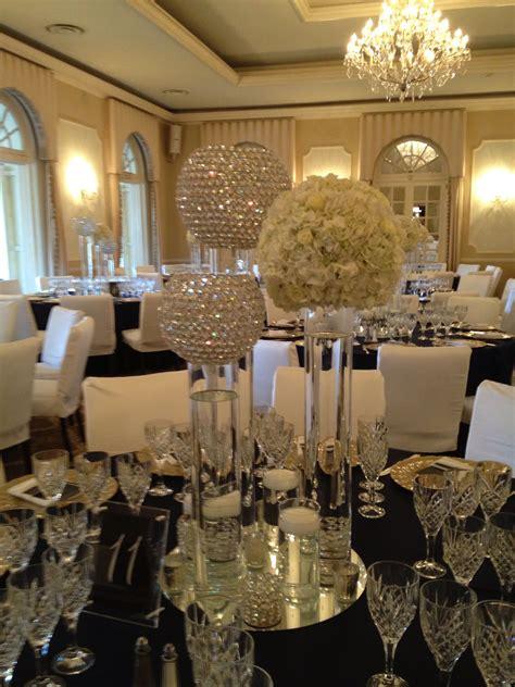 crystal ball centerpiece wedding decor ideas pinterest