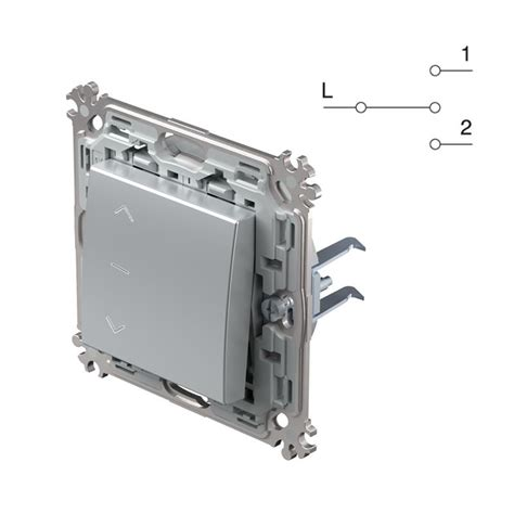 jalousien schalter modul plus jalousien schalter silber 250v 16a up
