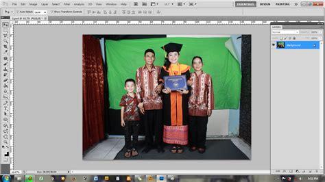 cara edit foto wisuda photoshop tutorial cara membuat background foto wisuda prialangka