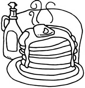 pancake coloring pages pancakes free colouring pages