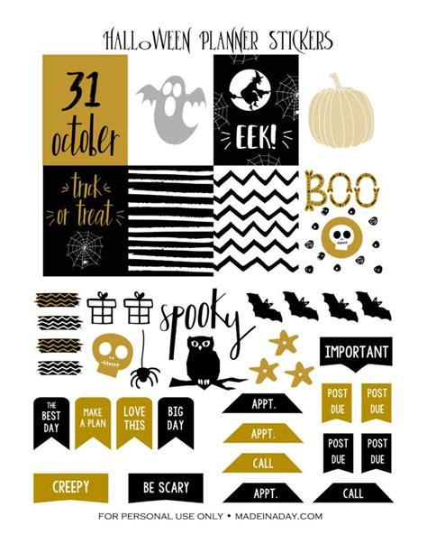 free printable halloween planner stickers 310 best printables images on pinterest planner ideas