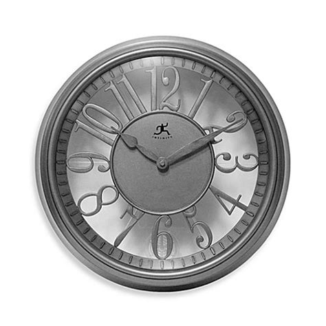 bed bath beyond clocks buy infinity instruments the engineer wall clock from bed