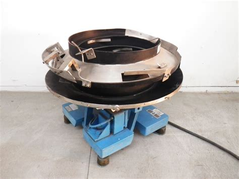 Vibratory Feeder Bowl syntron fmc magnetic parts feeder eb162a eb 162 a vibratory bowl feeder tested