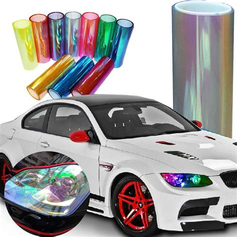 Rookie Decal Neo Redblue White aliexpress buy 30 120cm change color headlight tint