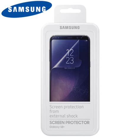 Samsung Galaxy S8 Screen Protector Cover Original official samsung galaxy s8 plus screen protector pack