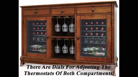 wine credenza  refrigerator great wine cooler