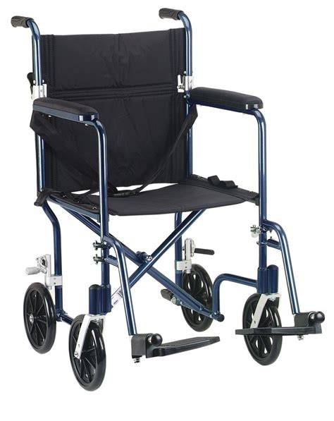Wheelchair Replacement Seat Upholstery Amazon Com Drive Medical Fw19bl Fly Weight Transport