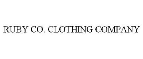 ruby clothing company ruby co clothing company trademark of hearts of palm llc