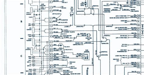 93 toyota wiring diagram toyota wiring diagram