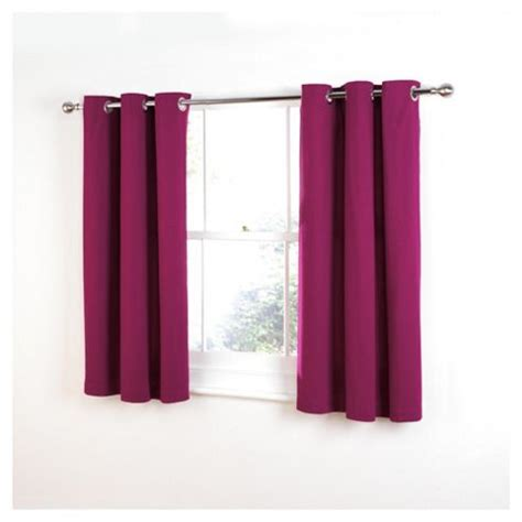 dark pink curtains buy tesco plain canvas unlined eyelet curtains w168xl229cm