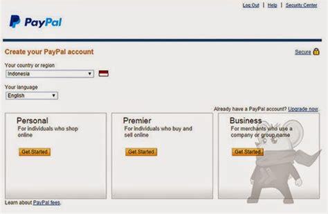 cara membuat paypal untuk pemula cara mudah membuat akun paypal tanpa kartu kredit cc
